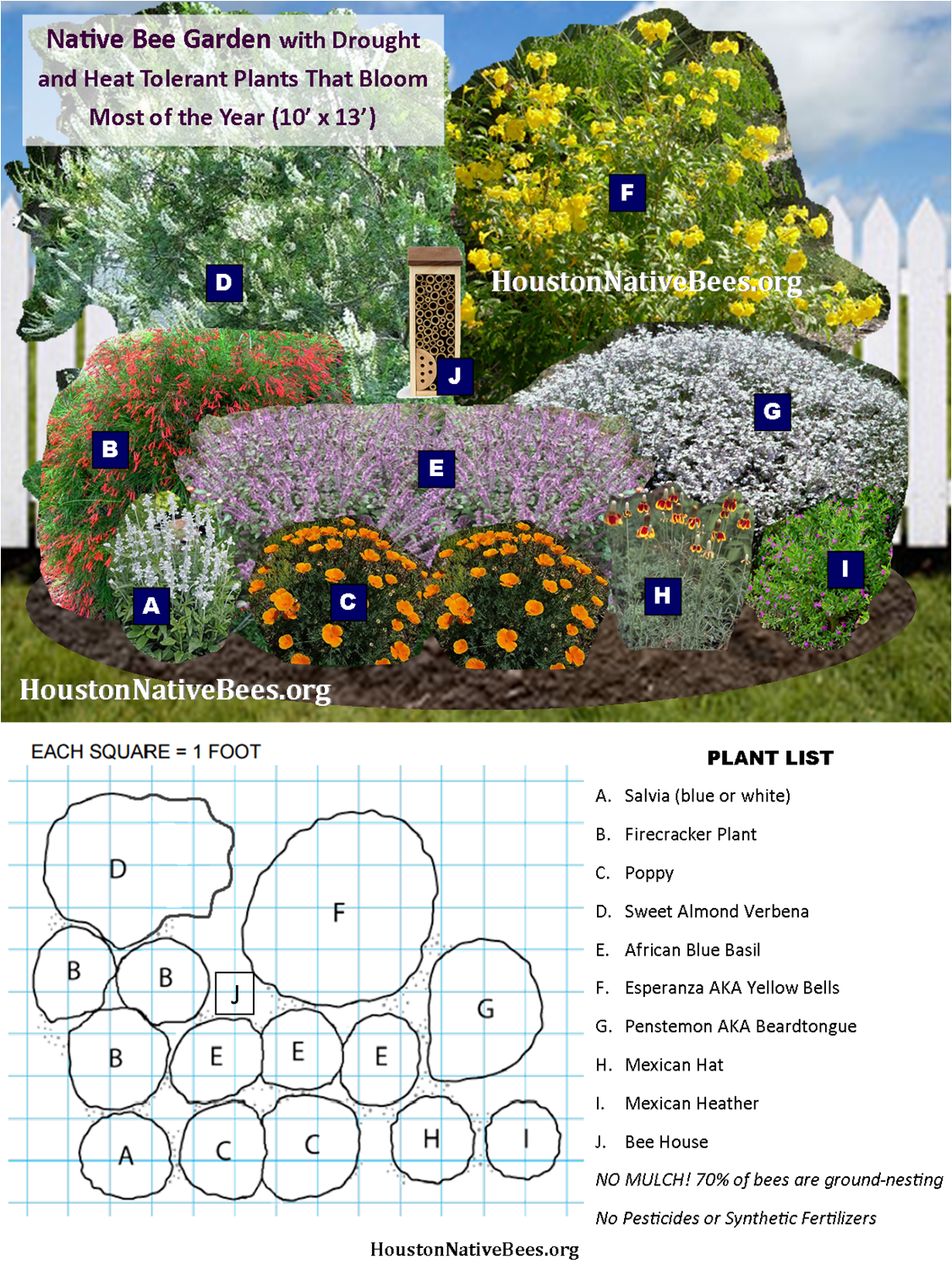 Exceptionnel Easy Garden Design To Help Native Pollinators